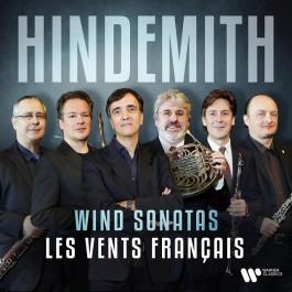 Les Vents Francais Hindemith Wind Sonatas CD