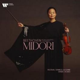Midori Beethoven Violin Concerto, 2 Romances CD