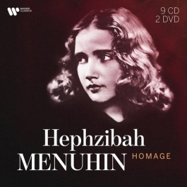 Hephzibah Menuhin Homage CD9+DVD2