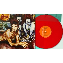 David Bowie Diamond Dogs Red Vinyl LP