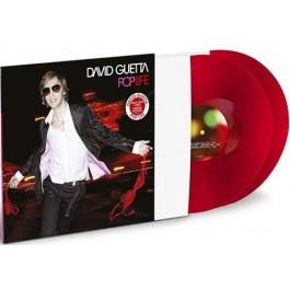 David Guetta Pop Life Red Vinyl LP