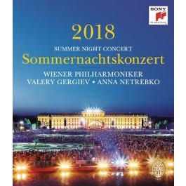 Valery Gergiev Anna Netrebko Summer Night Concert 2018 BLU-RAY