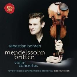 Sebastian Bohren Mendelssohn, Britten Violin Concertos CD