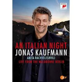 Jonas Kaufmann An Italian Night Live From The Waldbuchne Berlin BLU-RAY