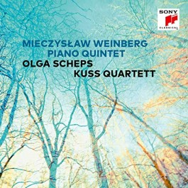 Olga Scheps Kuss Quartett Weinberg Piano Quintet CD