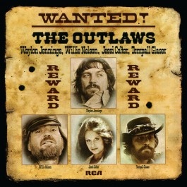 Waylon Jennings Willie Nelson Wanted The Outlaws LP