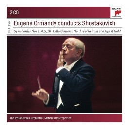 Eugene Ormandy Conducts Shostakovich CD3