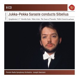 Jukka-Pekka Saraste Conducts Sibelius CD8