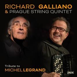 Richard Galliano & Prague String Quintet Tribute To Michael Legrand CD