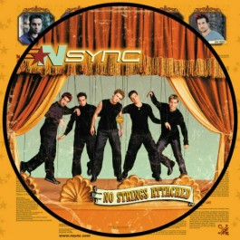 n Sync No Strings Attached Picture Vinyl LP