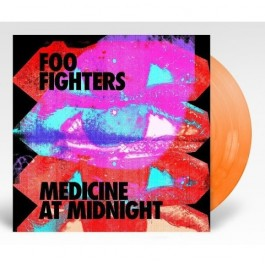 Foo Fighters Medicine At Midnight Orange Vinyl LP