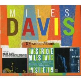 Miles Davis 3 Essential Albums CD3