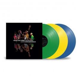 Rolling Stones A Bigger Bang Live On Copacabana Beach Coloured Vinyl LP3