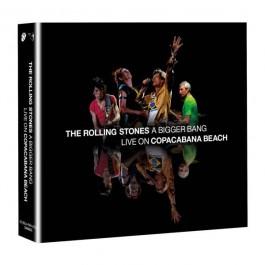 Rolling Stones A Bigger Bang Live On Copacabana Beach CD2+BLU-RAY