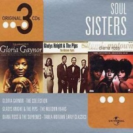 Various Artists Soul Sisterbox CD