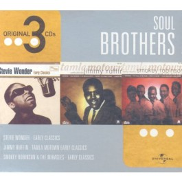 Various Artists Soul Brothersbox CD