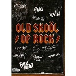Various Artists Old Skool Of Rock DVD