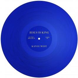 Kanye West Jesus Is King Transparent Blue Vinyl LP