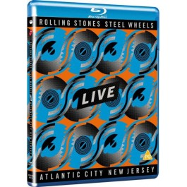 Rolling Stones Steel Wheels Live Atlantic City New Jersey BLU-RAY