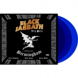 Black Sabbath End - Birmingham 2017 180Gr Blue LP3