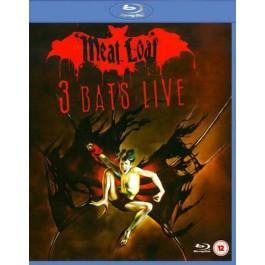 Meat Loaf 3 Bats Live BLU-RAY