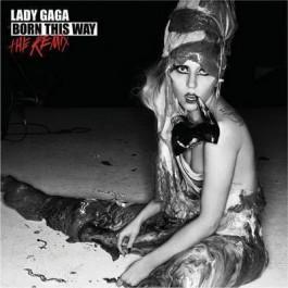 Lady Gaga Born This Way The Remix CD