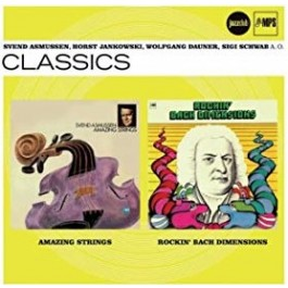 Razni Izvođači Amazing Strings, Rockin Bach Dimensions Jc CD