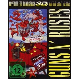 Guns N Roses Appetite For Democracy BLU-RAY+CD2