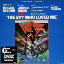 Soundtrack James Bond The Spy Who Loved Me LP