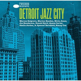 Various Artists Detroit Jazz City CD