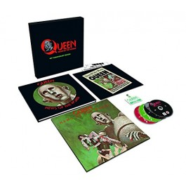 Queen News Of The World 40Th Anniversary LP+CD3+DVD