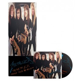 Metallica 5.98 Ep Garage Days Re-Revisited Limited Longbox CD