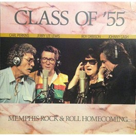 Johnny Cash Carl Perkins Jerry Lee Lewis Roy Orbison Class Of 55 LP
