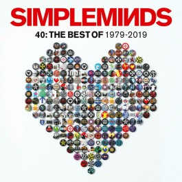 Simple Minds 40 Best Of 1979-2019 CD