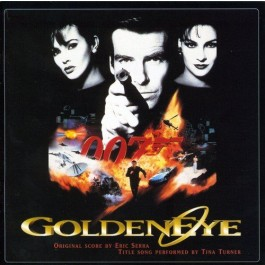 Soundtrack Golden Eye By Eric Serra CD
