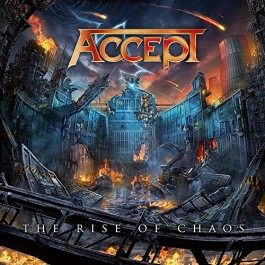 Accept Rise Of Chaos Limited Gatefold-Digi CD