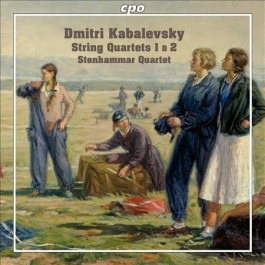 Stenhammar Quartet Kabalewski String Quartets 1&2 CD