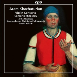 Antje Weithaas Khachaturian Violin Cocncerto CD