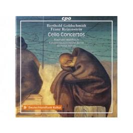 Raphael Wallfisch Goldschmidt, Reizenstein Cello Concertos CD