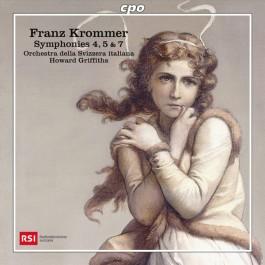 Orchestra Della Svizzera Italiana Krommer Symphonies 4, 5 & 7 CD