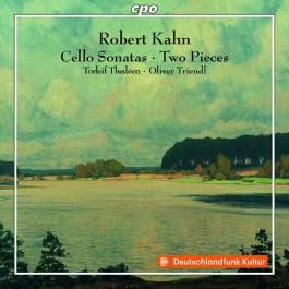 Torlief Thedeen Oliver Triendl Kahn Cello Sonatas, Two Pieces CD