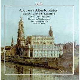 Heidi Maria Taubert David Erler Ristori Missa, Litanie, Miserere CD