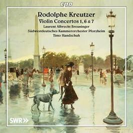 Laurent Albrecht Breuninger Kreutzer Violin Concertos 1, 6 & 7 CD