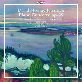 Oliver Treindl Johansen Piano Concerto Op. 29 CD
