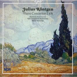 Matthias Kirschnereit Rontgen Piano Concertos 2&4 CD