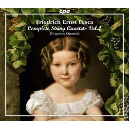 Diogenes Quartett Fesca String Quartets Vol. 1 CD3
