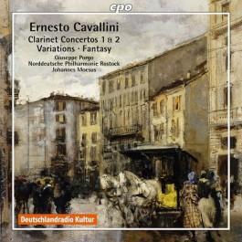 Giuseppe Porgo Cavallini Clarinet Concertos 1&2 CD