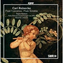 Tatjana Ruhland Reinecke Flute Concertos CD