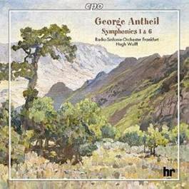 Hugh Wolff Radio Sinfonie Orchester Frankfurt Antheil Symphonies 1 & 6 CD