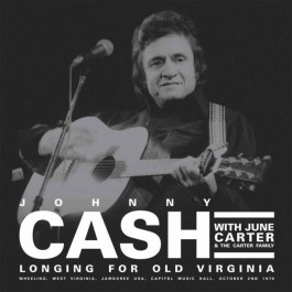 Johnny Cash Longing For Old Virginia LP2